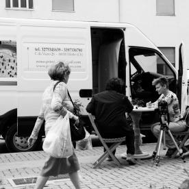Emanuela Barbi , GiroVita, 2013 Progetto Relazionale – Città di Pescara, Video HD, 20', Ph. Claudia Ferri