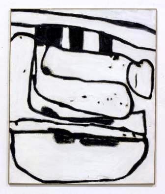 Wolfgang Voegele, Untitled (On a hill), 2015, Olio e lacca su tela, 150 cm x 120 cm www.annarumma.net - www.wolfgangvoegele.com/