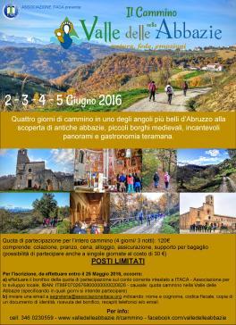 La valle delle abbazie (manifesto) - www.lavalledelleabbazie.it