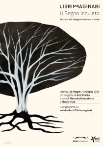 Librimmaginari. Il segno inquieto, Manifesto - www.arciviterbo.it/librimmaginari