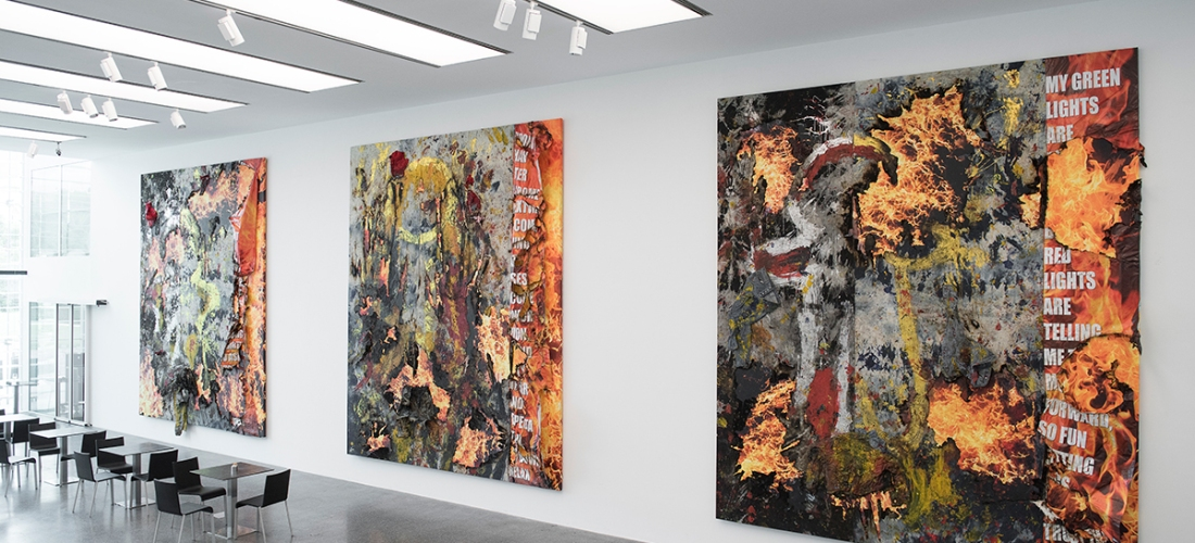 Korakrit Arunanondchai, History Painting (Poetry Floor 1,2,3), 2016 Courtesy of the artist and C L E A R I N G New York/Brussels, Museion Passage 2016. Foto Luca Meneghel - www.museion.it