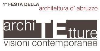 1° festa dell'achitettura d'abruzzo architetture, manifesto