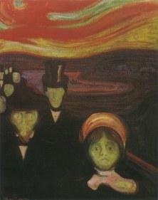 Edvard Munch, Angoscia, 1894 (da web)