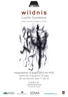 Lucilla Candeloro, Wildnis - manifesto/locandina - http://www.v-ar-co.com/