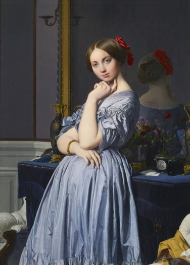 Jean-Auguste-Dominique Ingres, Comtesse d'Haussonville, 1845 (Web)