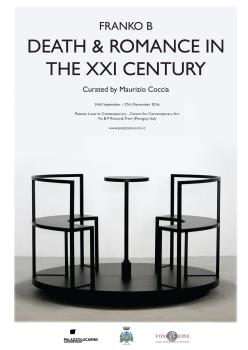 Franko B Death and Romance in the XXI Century A cura di: Maurizio Coccia - http://www.palazzolucarini.it/