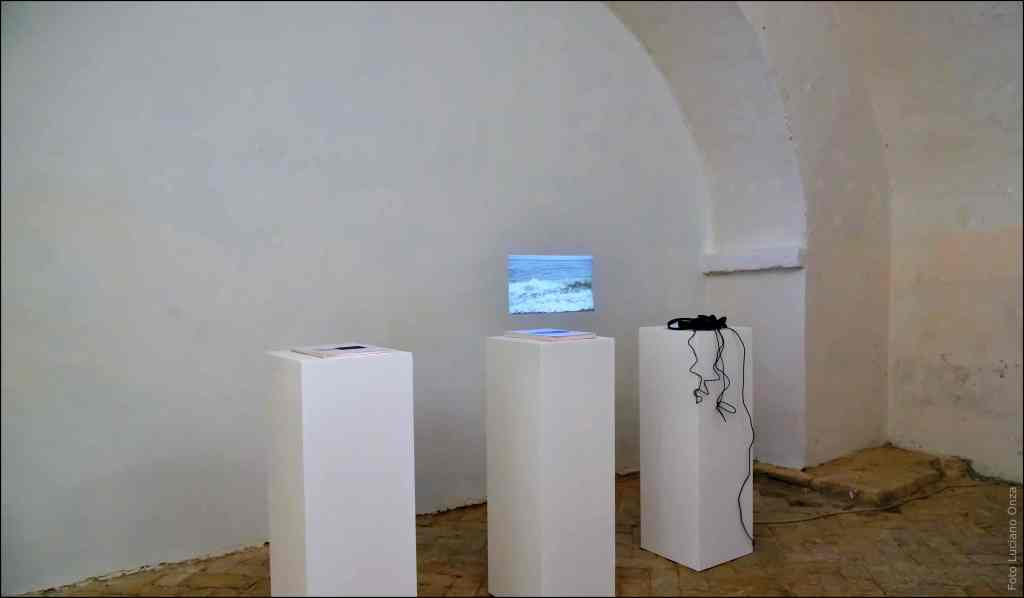 Valentina Colella, ... e dopo accadde il bianco, 2016, installazione da attese impossibili, 2013
