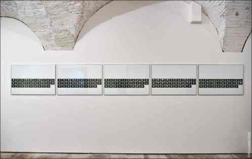 Valentina Colella, ... e dopo accadde il bianco, 2016, Dove dormono le stelle 1_2_3_4_5_stampa su carta, hahnemuhle, 61cm x 91cm
