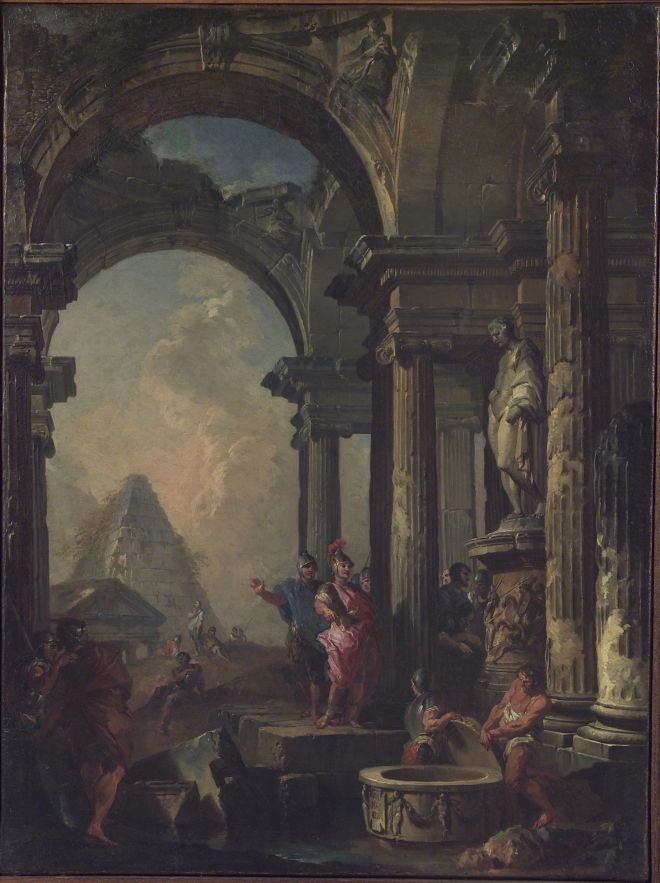 ROMA-PARIGI. Accademie a confronto L'Accademia di San Luca e gli artisti francesi, al 13 gennaio 2017, Accademia di San Luca, Roma