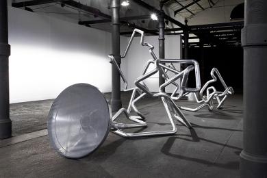 Donato Piccolo. UNNATURAL, 27 novembre, Centro de Desarrollo de las Artes Visuales, Habana - Cuba - Foto courtesy esibizione curata SMart curator in Shanghai
