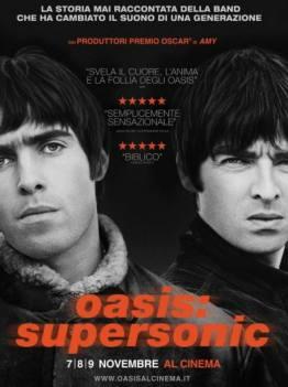 Oasis: Supersonic (Locandina presa dal web)