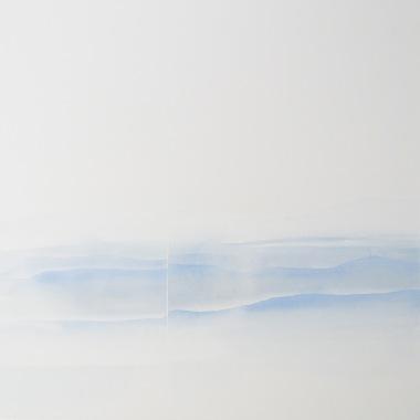 Minus.log, A-line, 2016, olio su tela, 80 x 80 cm, Courtesy Galleria Bianconi