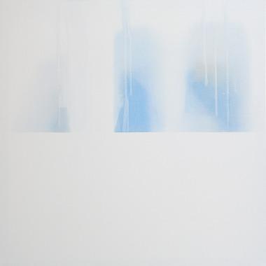 Minus.log, People, 2016, olio su tela, 80 x 80cm, Courtesy Galleria Bianconi