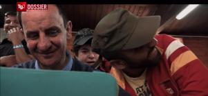 II Migrati - il documentario (frame da video) - diretto da Francesco Paolucci