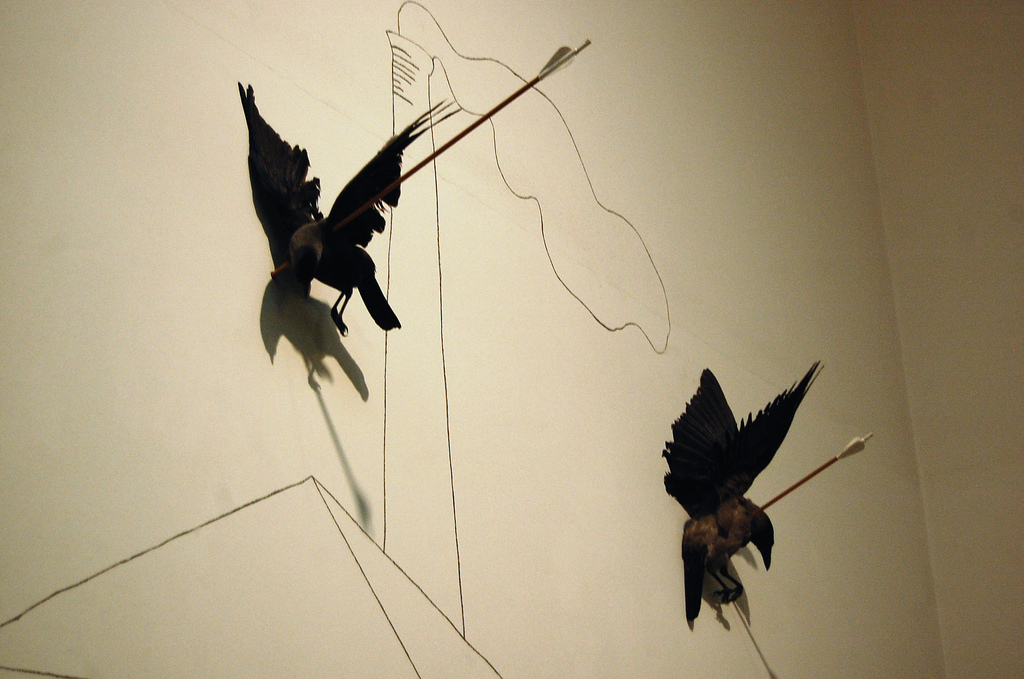 La prima opera che vidi a Londra, alla Tate, diversi anni fa. Untitled 1979 by Jannis Kounellis
