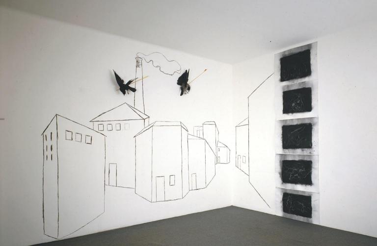 Untitled 1979 Jannis Kounellis born 1936 Purchased 1983 http://www.tate.org.uk/art/work/T03796
