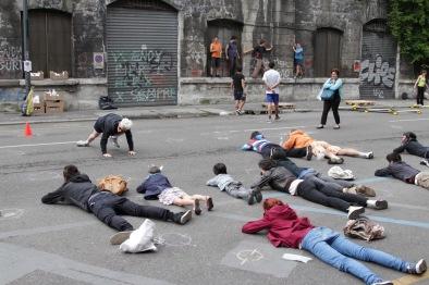 Grossi Maglioni, Lo sguardo che offende Foto Mirai PulvirentiTraining dimostrativo, 2013 Foto Max Botticelli