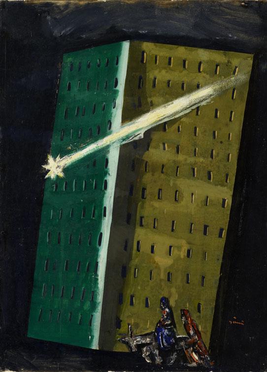 14. Mario Sironi Fuga in Egitto, 1930 Mart, Collezione Allaria