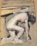 18. 18 Mario Sironi Nudo bianco, (1946-1947) Mart, Collezione Allaria