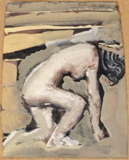 18.18 Mario Sironi Nudo bianco, (1946-1947) Mart, Collezione Allaria
