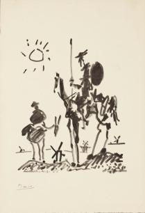 6. Pablo Picasso Don Quijote e Sancho Panza, 1955 Mart, Collezione Allaria