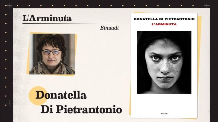 L'arminuta di Donatella Di Pietrantonio, cover Rai 3, Quante Storie, consigliato da Michela Murgia