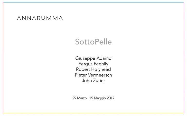 SottoPelle, 29 Marzo - Galleria Annarumma - Napoli