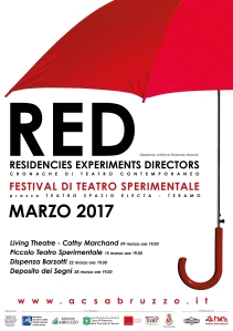 RED Residencies Experiments Directors (manifesto)