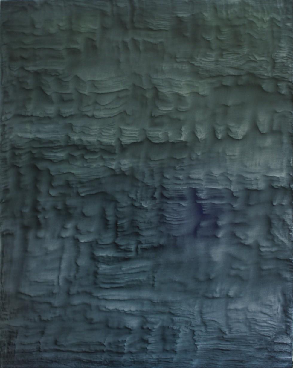 Giuseppe Adamo, PTNR 2 oilio su tela cm 100 x cm 80 - 2017