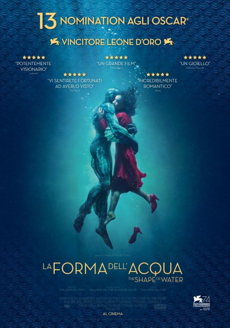 La forma dell'acqua - The Shape of Water di Guillermo Del Toro