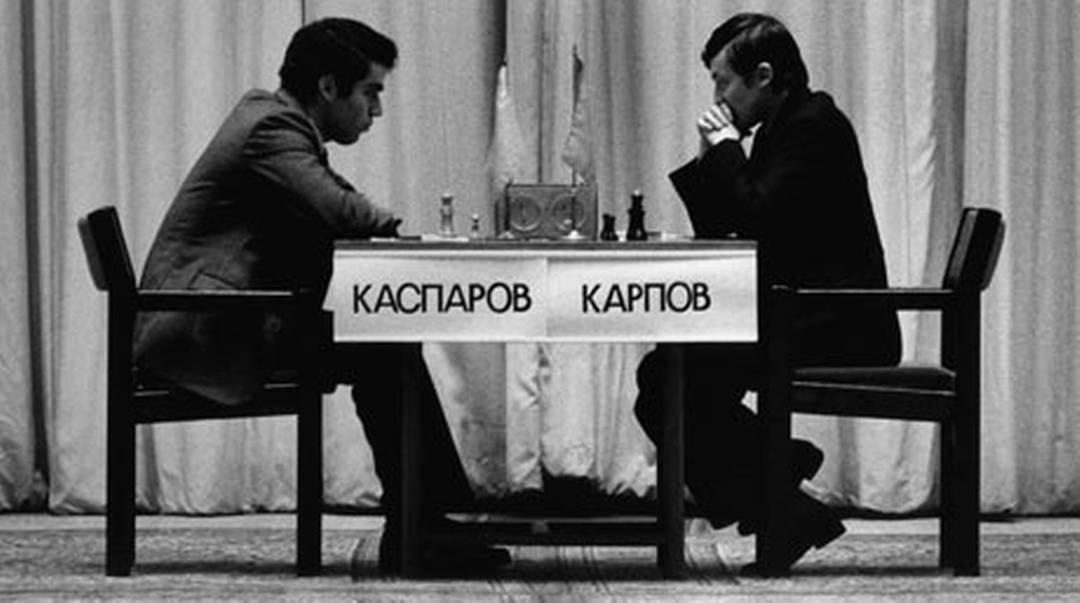 Karpov contro Kasparov Fonte: https://www.rsi.ch