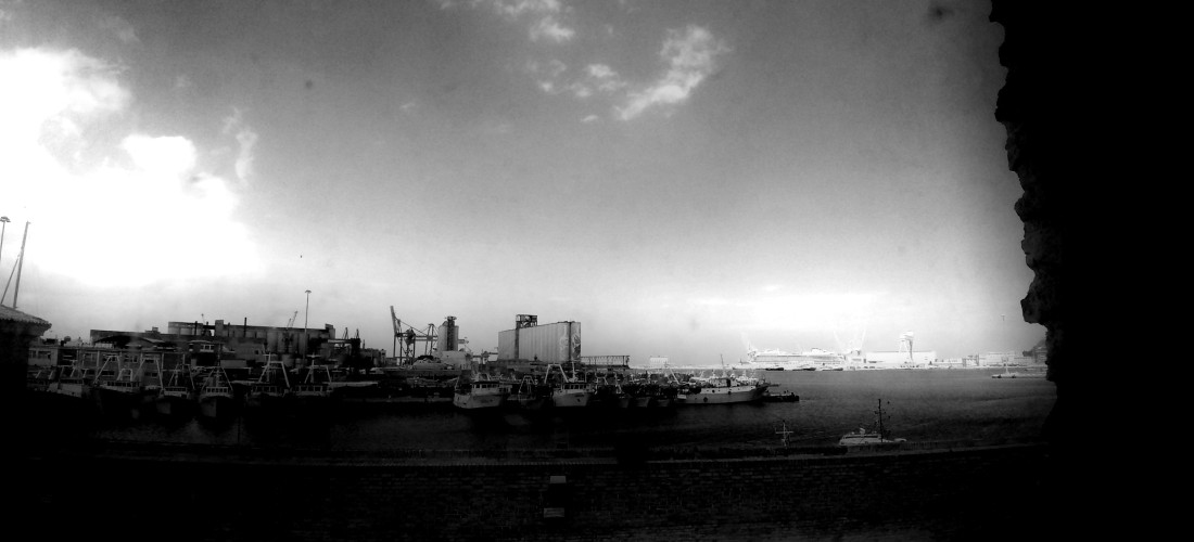 Porto di Ancona -Vista della mostra Henri-Cartier Bresson Fotografo, Ancona Ph. Amalia Temperini