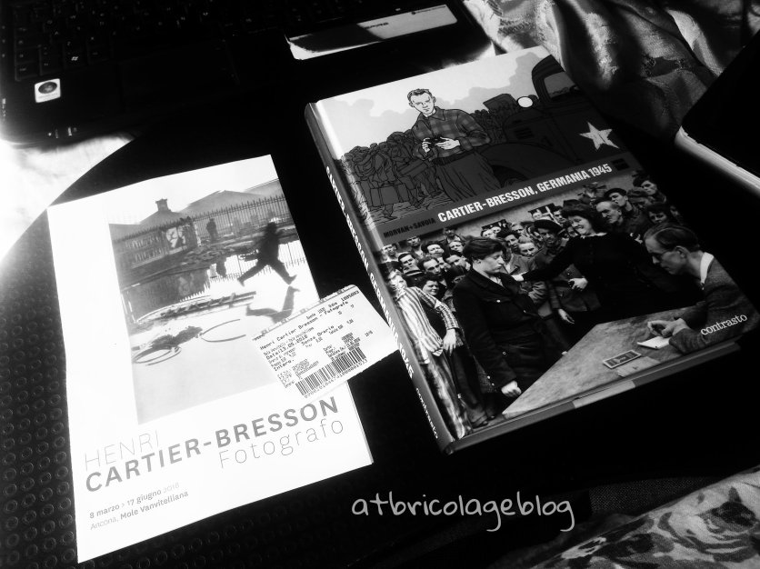 Biglietto mostra +Cartier-Bresson, Germania 1945 di Jean-David Morvan e Séverine Tréfouël ph. Amalia Temperini (Contrasto, 2017) - https://amzn.to/2Lpanuk