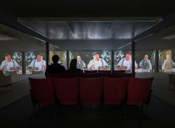 14. The Florence Experiment, 2018,Sale cinema,Strozzina(divertimento)(Foto di Attilio Maranzano)