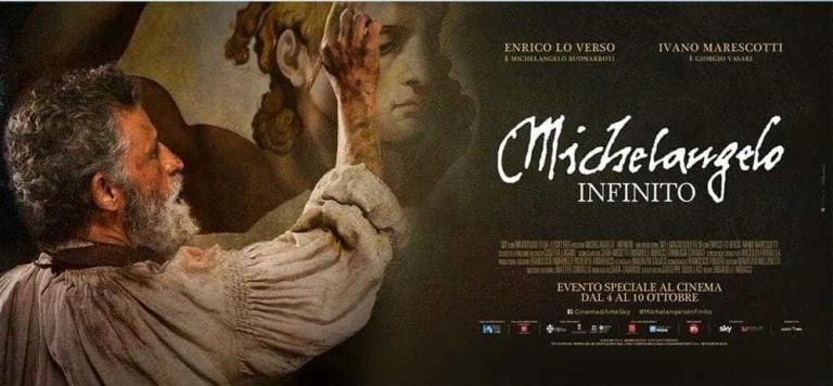Manifesto, Michelangelo - Infinito di Emanuele Imbucci (SKY/Lucky Red 2018)