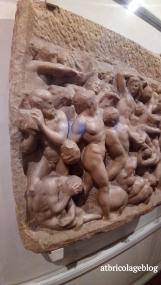 Michelangelo Buonarroti, La battaglia dei Centauri (1492) ph. Amalia Temperini