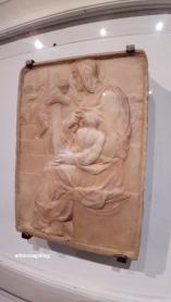 Michelangelo Buonarroti, La madonna della scala, 1491 ph. Amalia Temperini