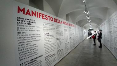 Manifesto, Marina Abramovic. The Cleaner, Palazzo Strozzi, Firenze, Novembre 2018 ph. Amalia Temperini