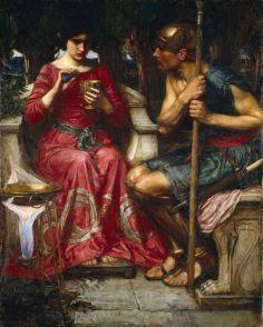 J. W. Waterhouse, Giasone e Medea, 1907 (Wikipedia)