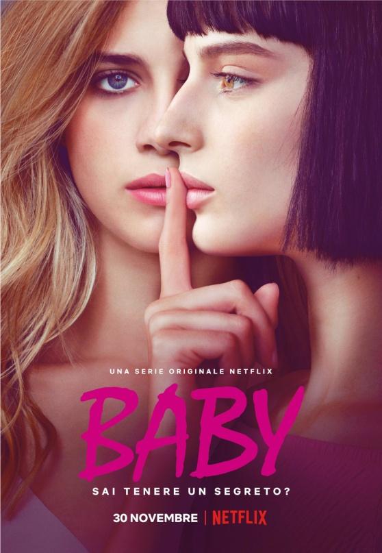 Baby di Andrea De Sica, Netflix, 2018 (Locandina)