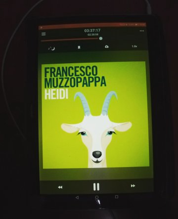 Heidi - Francesco Muzzopappa, Fazi Editore, 2018 - audiolibro - storytel ph. Amalia Temperini