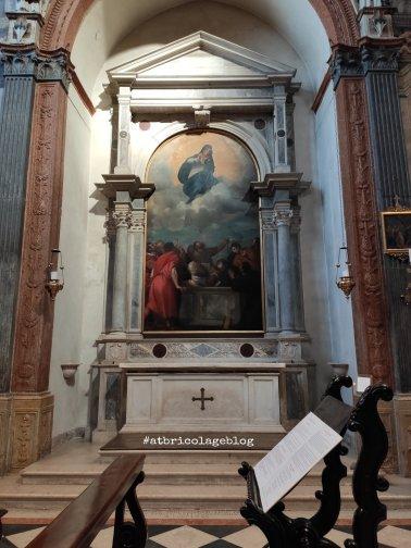 Tiziano, Assunzione della Vergine, - Duomo Cattedrale di Santa Maria Matricolare - ph. Amalia Temperini