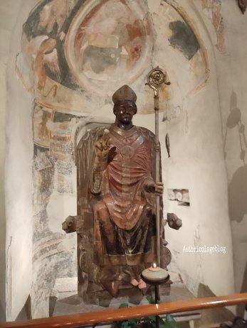 San Zeno che ride, Verona - Dettagli interni dall'altare maggiore - ph. Amalia Temperini