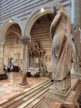 Dettagli interni dall'altare maggiore - ph. Amalia Temperini