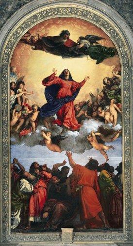 Tiziano, Assunta, - Duomo Cattedrale di Santa Maria Matricolare -WEB