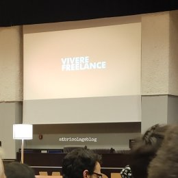 Vivere freelance - incontro con Zerocalcare, Parco della Scienza, Teramo ph. Amalia Temperini