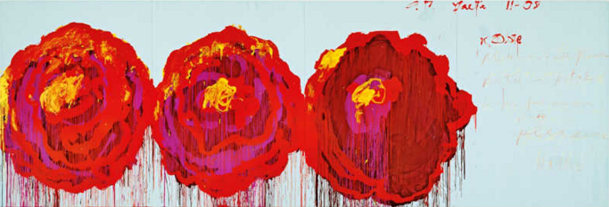 Cy Twombly, The Rose Series, 2008 (web)