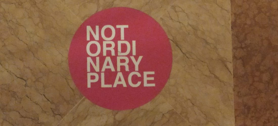Francesca Pasquali, not ordinary place, bologna