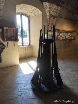 Museo delle armi, Fortezza di Civitella del Tronto (TE) ph. Amalia Temperini
