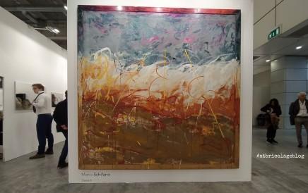 Mario Schifano, Deserti, Galleria Tonelli, Arte Fiera 2020, Bologna - ph. Amalia Temperini